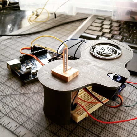 arduino, dj, table, wen han, design, art,sensor, servo, drawing bot, electronics